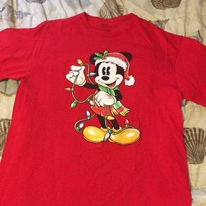 Mickey Mouse graphic logo T-shirt size large